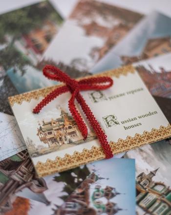 Набор открыток Русские терема